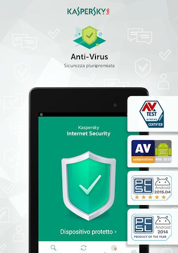 Kaspersky Mobile Antivirus: AppLock Sicurezza Web screenshot 10