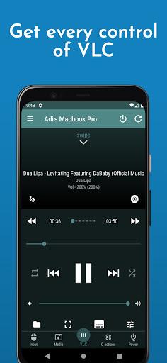 VLC Mobile Remote - PC Remote & Mac Remote Control screenshot 1