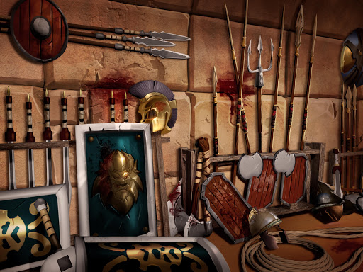 Gladiator Heroes - Fighting and strategy game screenshot 14
