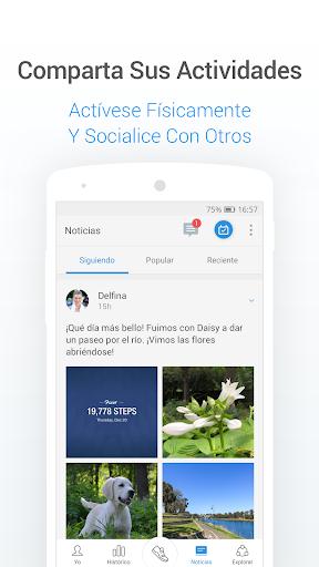 Podómetro gratis - Contador de Pasos y Calorías screenshot 5