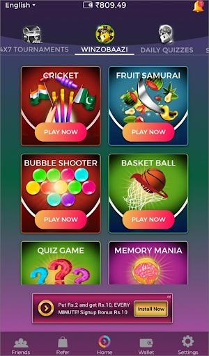 Winzo Winzo Gold - Earn Money& Win Cash Games Tips скриншот 3