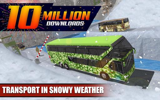 Army Bus Driver 2021:Real Military Coach Simulator screenshot 1