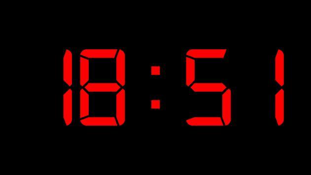 Black Alarm Clock screenshot 1