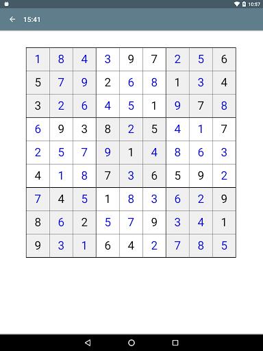 Sudoku screenshot 24