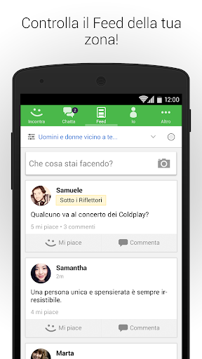 MeetMe- Vai Live, Chatta & Incontra Nuove Persone! screenshot 4