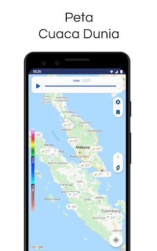 Clime: Radar Cuaca dan Ramalan screenshot 6