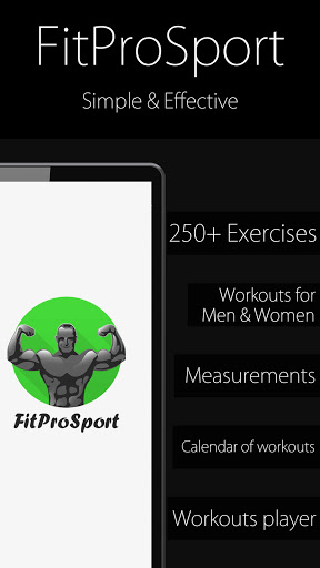 Fitness Trainer FitProSport screenshot 1