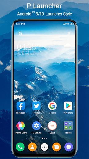 P Launcher 2021 new screenshot 1