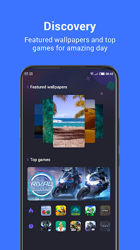 HiOS Launcher(2021)-  Fast, Smooth, Stabilize screenshot 3