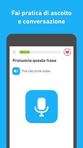 Impara l'inglese con Duolingo screenshot 4