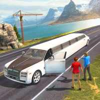 Limousine Taxi Driving Game on 9Apps