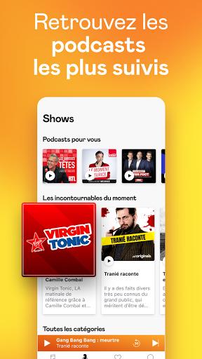 Deezer : musique, podcasts & playlists screenshot 6