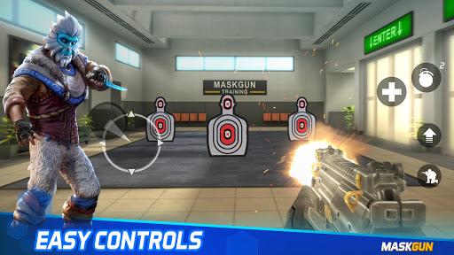 MaskGun - Online multiplayer FPS shooting gun game screenshot 5