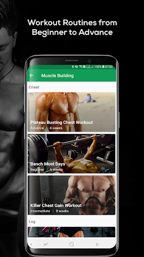 Fitvate - Home & Gym Workout Trainer Fitness Plans screenshot 6