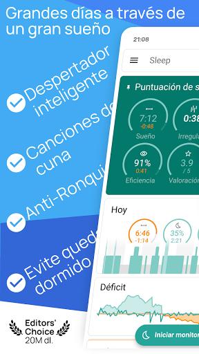 Sleep as Android: Monitoreo de ciclos de sueño screenshot 1