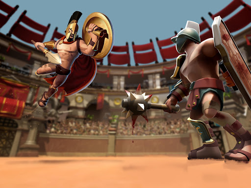 Gladiator Heroes - Fighting and strategy game screenshot 11