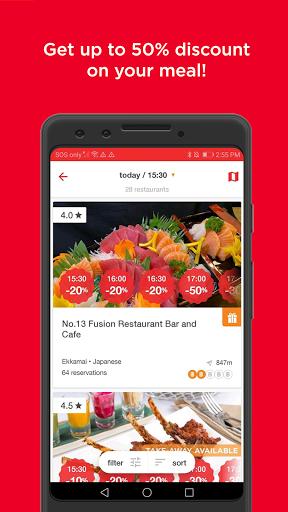 eatigo – discounted restaurant reservations screenshot 4