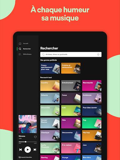 Spotify: musique et podcasts screenshot 13