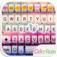 Cores da Chuva Teclado Emoji on 9Apps