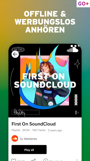 SoundCloud Music - Musik, Songs & Podcasts screenshot 6