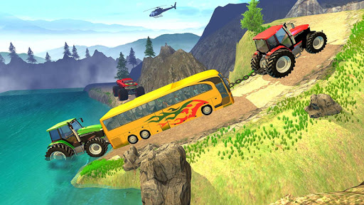 Tractor Pull Simulator Drive: Tractor Game 2021 स्क्रीनशॉट 1