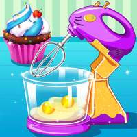 Bake Cupcakes - Cooking Game on 9Apps