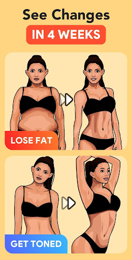 Workout for Women: Fit at Home screenshot 5