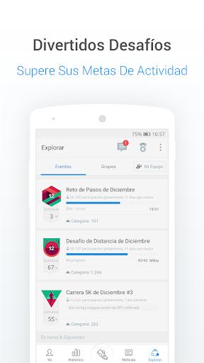 Podómetro gratis - Contador de Pasos y Calorías screenshot 7