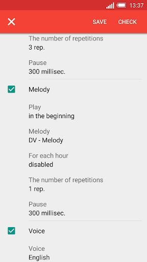 Konuşan Saat ve Alarm DVBeep screenshot 4