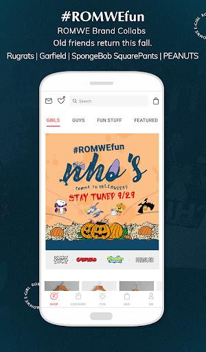 ROMWE -Online Fashion Store screenshot 2