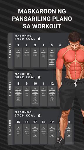 Muscle Booster Workout Planner screenshot 2