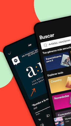 Spotify: música y pódcasts screenshot 2