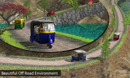 Tuk Tuk Auto Rickshaw Offroad Driving Games 2020 screenshot 6