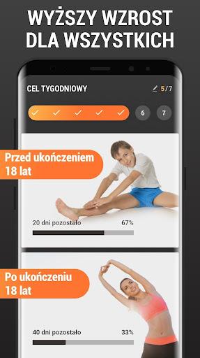 Wzrost Ćwiczenia w Domu - Ćwiczenia na Wzrost screenshot 1