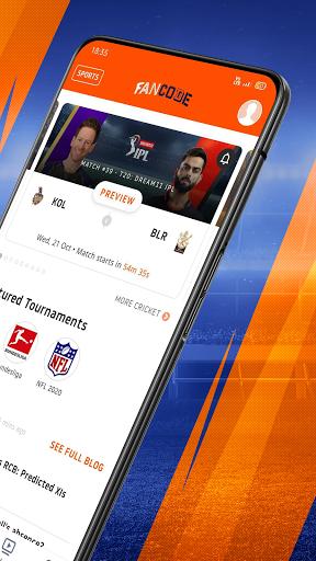 Watch LIVE Cricket & Fast Sports Scores: FanCode screenshot 2