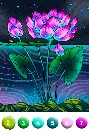 Paint By Number - Coloring Book & Color by Number screenshot 9