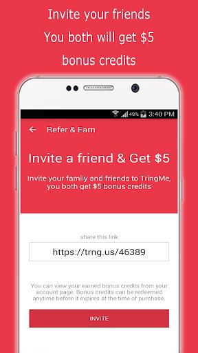 TringMe - Cheap International Calls screenshot 7