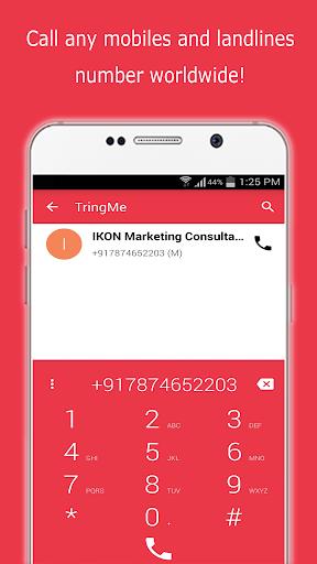 TringMe - Cheap International Calls screenshot 2