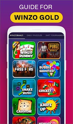 Winzo Winzo Gold - Earn Money& Win Cash Games Tips скриншот 1