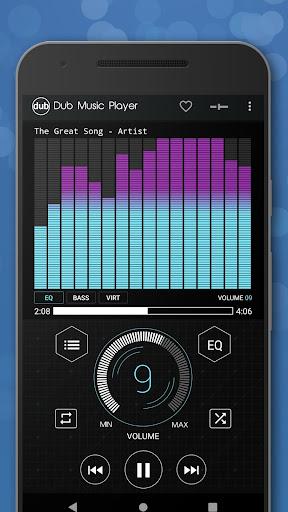 Dub-Musik-Player - Equalizer & Überblendung screenshot 5