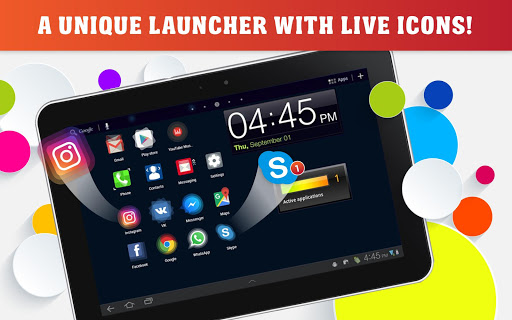 Launcher Live Icons for Android screenshot 7