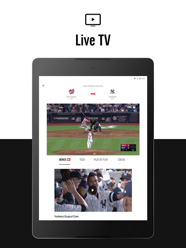 FOX Sports: Latest Stories, Scores & Events screenshot 12