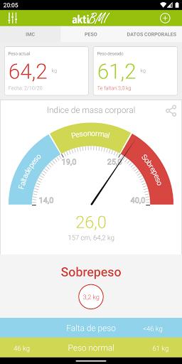 Pérdida de peso diario, IMC screenshot 1