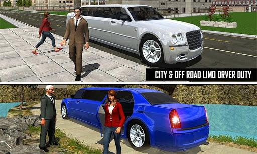 Big City Limo Car Driving Taxi Games screenshot 7