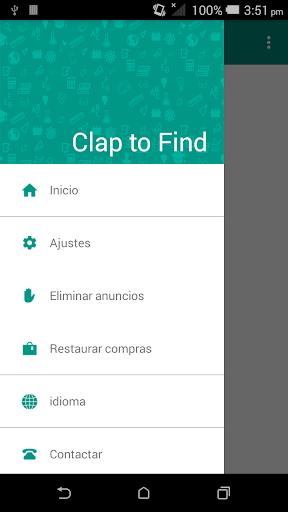 Clap to Find screenshot 1