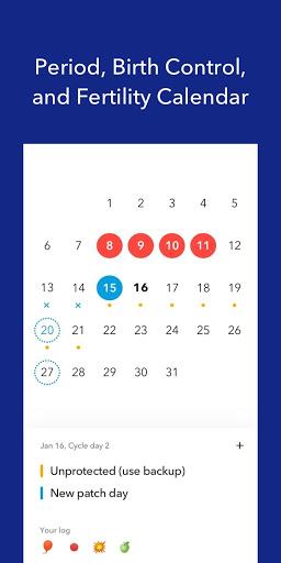 Spot On Period, Birth Control, & Cycle Tracker screenshot 2