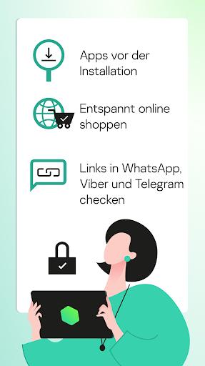 Kaspersky Sicherheit: Antivirus und Handy Schutz screenshot 7