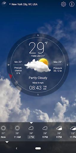 Weather Live° screenshot 8