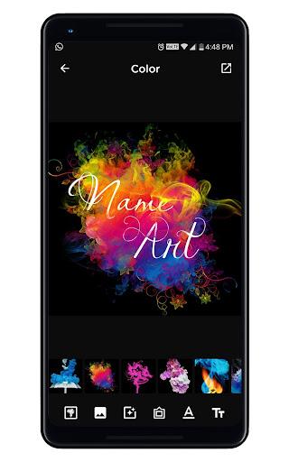 Smoke Name Art - Smoky Effect Focus n Filter Maker screenshot 8