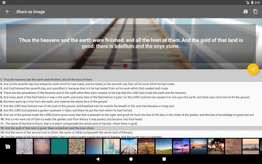 Bible Offline App Free   Audio, KJV, Daily Verse 18 تصوير الشاشة